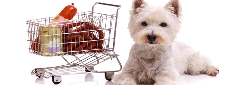 Achat d'aliments pour animaux
